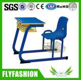 Escritorio y silla cómodos de la escuela para la venta (SF-95A)