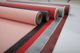 Paño revestido de la fibra de vidrio del Teflon de la tela de PTFE para impermeabilizar