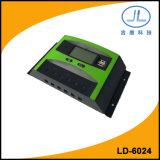 regolatore intelligente solare della carica della batteria della visualizzazione dell'affissione a cristalli liquidi di 60A 24V PWM