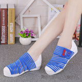 Le santal chaud de femmes de vente chausse les chaussures de Slip-on (FTS1020-5)