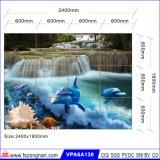 Kunst-Hintergrund glasig-glänzende Wand-Fliese für Baumaterial (VPA6A141)