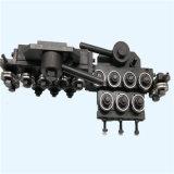Wiel dat van de Verkoop van Qipang het Hete Machine voor de Draad die van de Verkoop rechtmaakt Machines verdraait