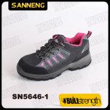 Pattini di sicurezza del cuoio della pelle scamosciata di Sanneng (SN5646)