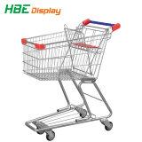 Carrello del carrello di acquisto del supermercato del metallo