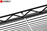 Cremagliera nera rivestita moderna dell'attaccapanni dell'indumento del filo di acciaio di Epoy