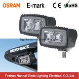 Mini Osram LED luz superventas del trabajo del rectángulo 10W (GT1012-10W)
