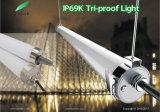 appareil d'éclairage de Tri-Épreuve de 0-10V Dimmable IP69K Waterprof pour extérieur