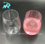 10oz優雅なプラスチックワイングラス、ガラスゴブレット