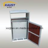 Ящик отброса высокого качества алюминиевый, ящик хлама металла для обочины