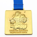 チャンピオンの記念品3Dのブランク金の一流ホールダーが付いているカスタムJuboのロゴの金属のスポーツ賞メダル