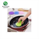 台所アクセサリのシリコーンの鍋またはボールのための柔らかいクリーニングブラシ