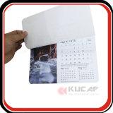 Calendario de encargo del vector de la pista de ratón del papel de imprenta