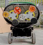 Конкретный точильщик полировщика пола с машиной ультра низкого пола центра притяжения меля полируя