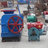 Halbautomatischer Lehm-Dieselblock, der Maschine kalzinierten roten Massen-Extruder herstellt