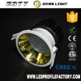 precio de fábrica CREE COB Distribuidor Downlight de techo LED