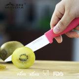 Cuchillo de cerámica de la fruta de los electrodomésticos con la envoltura y el conjunto de Peeler