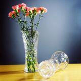 Высокое здание из стекла ваза цветов