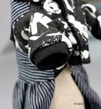 Рубашка любимчика бархата с одеждами собаки комбинезона Trouser джинсыов теплыми