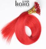 Hoogste Kwaliteit de Uitbreiding van het Menselijke Haar van het Uiteinde van U van de Keratine van 18 Duim