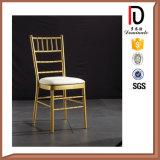 Hightの品質のスタック可能アルミニウム結婚のChiavariの椅子(BR-C010)