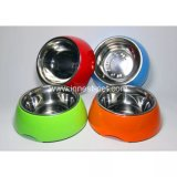 Корпус из нержавеющей стали пластмассовых ПЭТ Cat Doggie чаши, собаки продукта