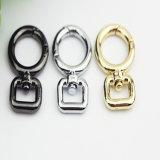 Crochet Shaped en alliage de zinc de rupture de cercle de vente chaude pour les clips de crabot de sac de collier de laisse (BL0846-2)