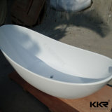 Vasca da bagno indipendente di superficie solida acrilica degli articoli sanitari della fabbrica della Cina