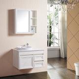 Les tiroirs de 1 porte 2 ont caché le Module moderne de lavabo de meubles de salle de bains de modèle de porte avec le miroir