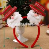 크리스마스 LED 가벼운 머리 악대 머리띠 부속품 산타클로스 순록 눈사람 Xmas