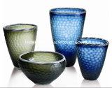 Transparenter Kristallglas-Vasen-/Flower-Großhandelsvase