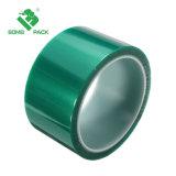 Pet de alta temperatura de color verde de cinta resistente al calor de PCB con soldadura de reparación con soldadura