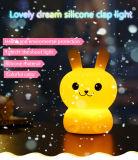 夢のシリコーン多彩なウサギ/くまの軽打ライト