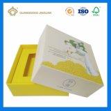 Couvercle et caisse d'emballage de papier de base de savon de Cardbaord