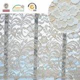 アフリカの刺繍のレースファブリック。 スイス様式デザイン、優雅な衣服材料Ln10068