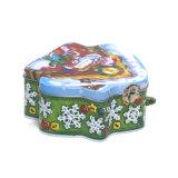 Asa grande Tin Box Caja de regalo de Navidad