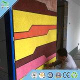 El panel acústico de la tarjeta respetuosa del medio ambiente de las lanas de madera OSI