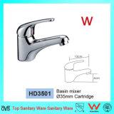 Australien-Standardwasserzeichen und Wels Zustimmungs-Badezimmer-Messingeinhebelbassin-Hahn (HD3501)