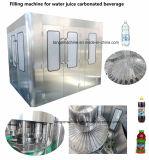 Remplissage de lavage automatique plafonnement de l'unité 3 en 1 de l'embouteillage de la machine pour l'eau embouteillée de ligne de production