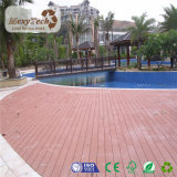 Plancher imperméable à l'eau antidérapage extérieur bon marché des prix WPC pour la piscine