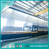 Landglass certificada CE/plana de la línea de producción de vidrio templado curvo