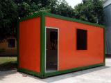 Наборы дома контейнера Prefab черни живя 20FT здания Китая