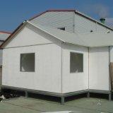 Casa prefabricada de acero ligera de lujo/casa modular para la venta