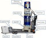 Seitliche Tür-Bewegungsqualität Coopper Draht Wechselstrom 220V 300-2000kg