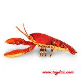 Плюш имитирует омара игрушки моря