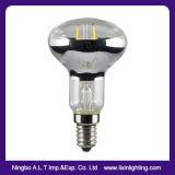 R39 Ampoule à filament LED couvercle avec une variété de refroidissement des gaz inertes