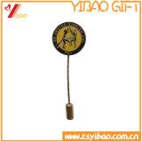 Pin su ordinazione del risvolto dell'emblema del metallo del fornitore con l'ago lungo (YB-SM-15)