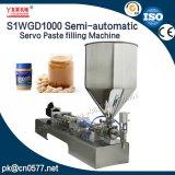 2017 Youlian Servo semiautomático pegar máquina de envasado de productos químicos (S1WGD1000)