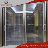 Vía doble de aluminio termolacado gran Panel puerta deslizante