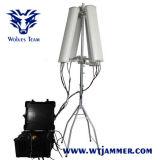 600W 4-8bandsの高い発電の無人機の妨害機(2500mまで)