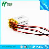 500mAh de polímero de litio li-ion recargable batería Lipo con FCC MSDS de Devic portátil